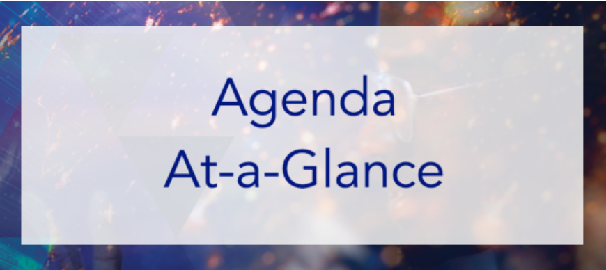 Download Agenda At-a-Glance